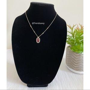 Kendra Scott Clear Berry Adjustable Slide Necklace